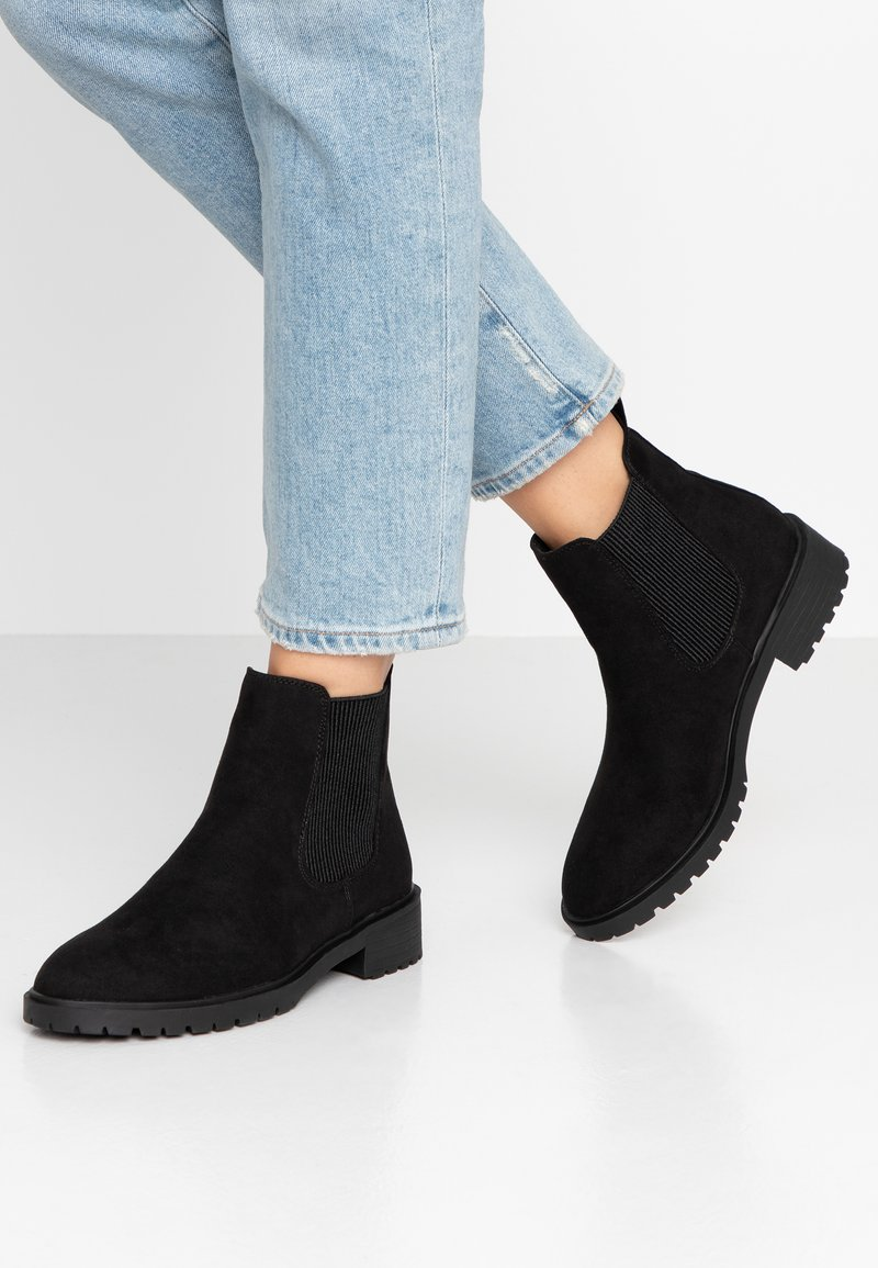 New Look - DAILY - Stiefelette - black