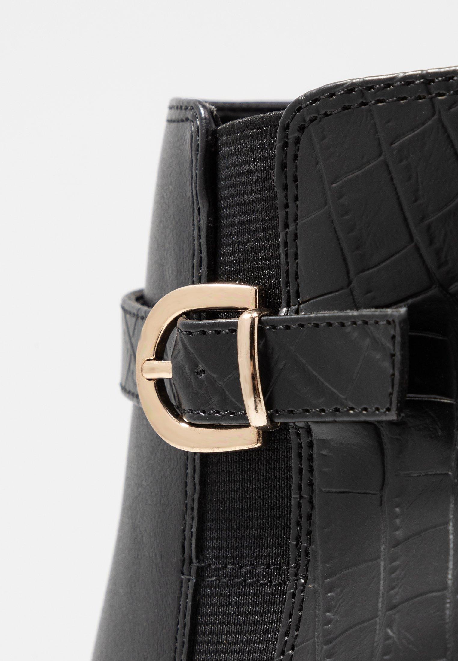 New Look ANTHONY - Bottines à talons hauts black