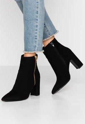BOLD - Kotníkové boty - black