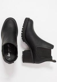 New Look - EARTH - Kotníková obuv - black - 3