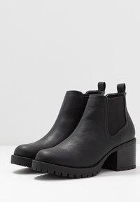 New Look - EARTH - Kotníková obuv - black - 4