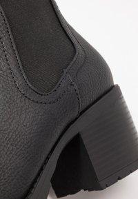 New Look - EARTH - Kotníková obuv - black - 2