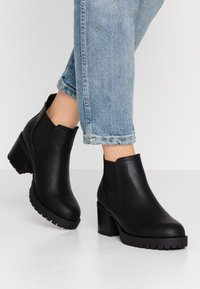 New Look - EARTH - Ankle boots - black - 0