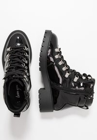 New Look - DABBLE  - Lace-up ankle boots - black - 3