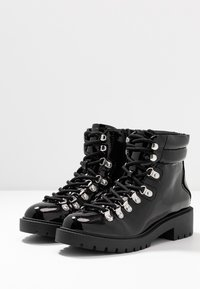 New Look - DABBLE  - Lace-up ankle boots - black - 4