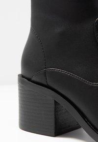 New Look - EUPHORIA - Kotníková obuv - black - 2