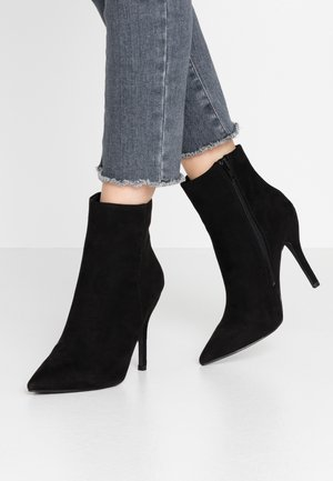 ALICIA - High heeled ankle boots - black