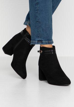 BUFFY - Boots à talons - black