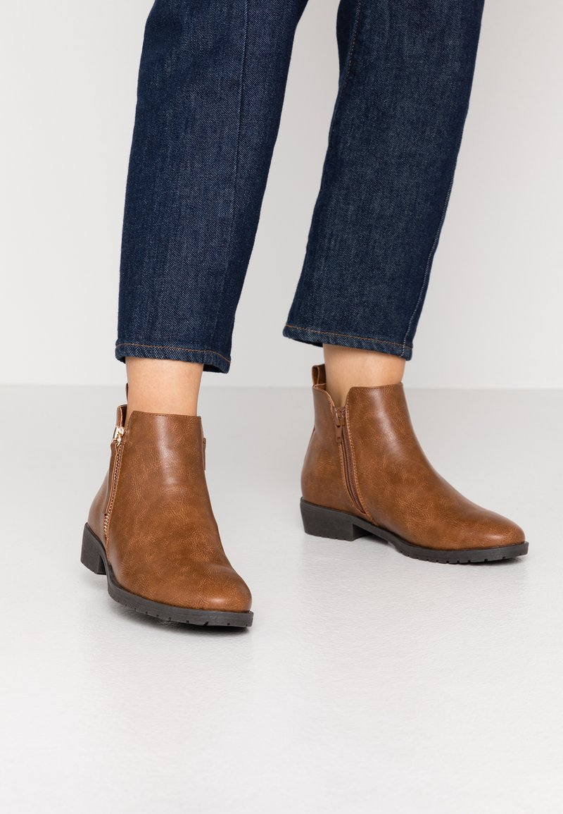 New Look - DELIA - Ankle boots - tan