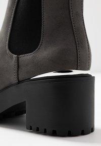 New Look - CIVIL - Kotníková obuv - mid grey - 2