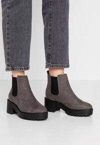New Look - CIVIL - Kotníková obuv - mid grey - 0
