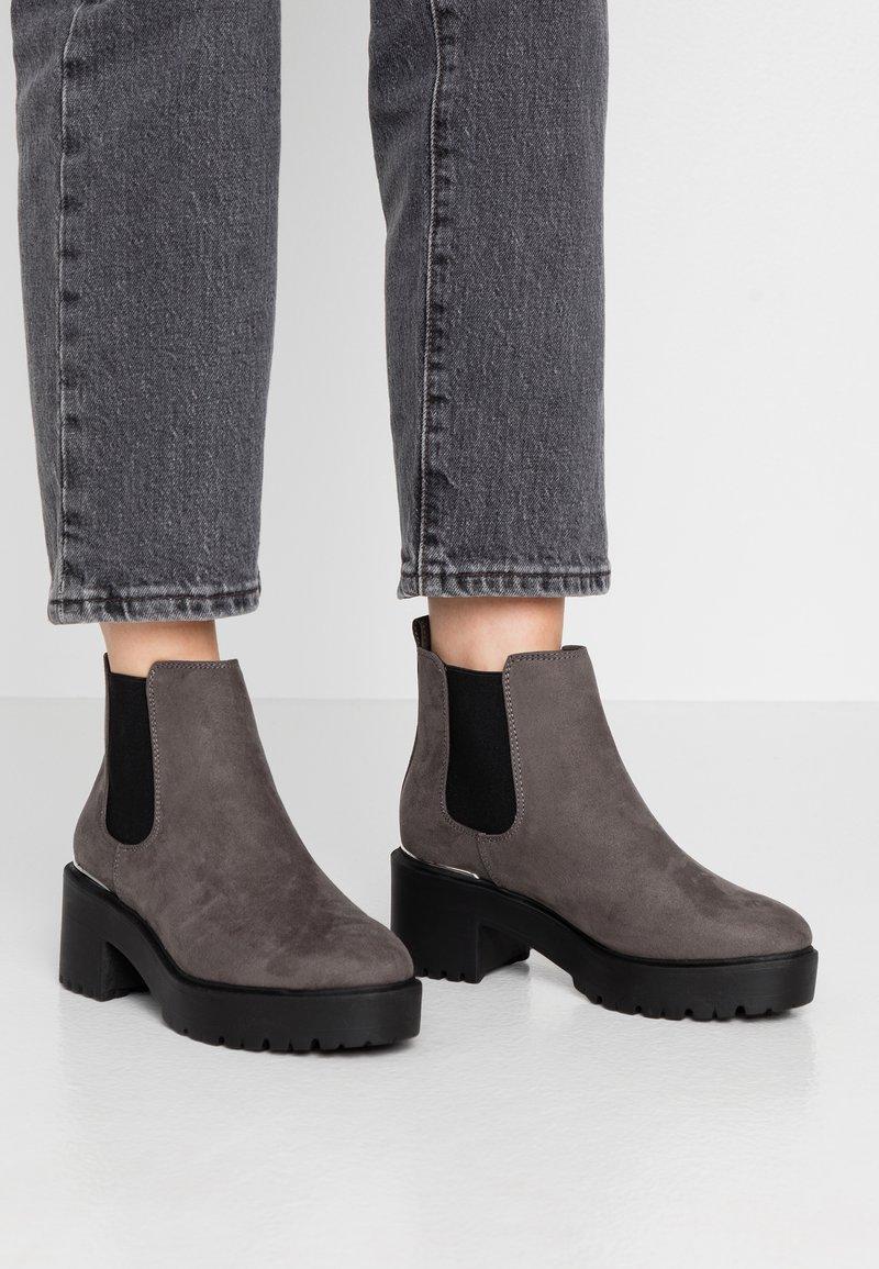New Look - CIVIL - Kotníková obuv - mid grey