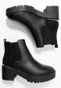 New Look - CIVIL - Boots à talons - black - 3