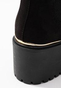 New Look - CIVIL - Boots à talons - black - 2