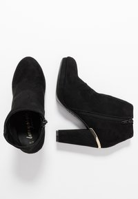 New Look - BRETTLE - High heeled ankle boots - black - 3
