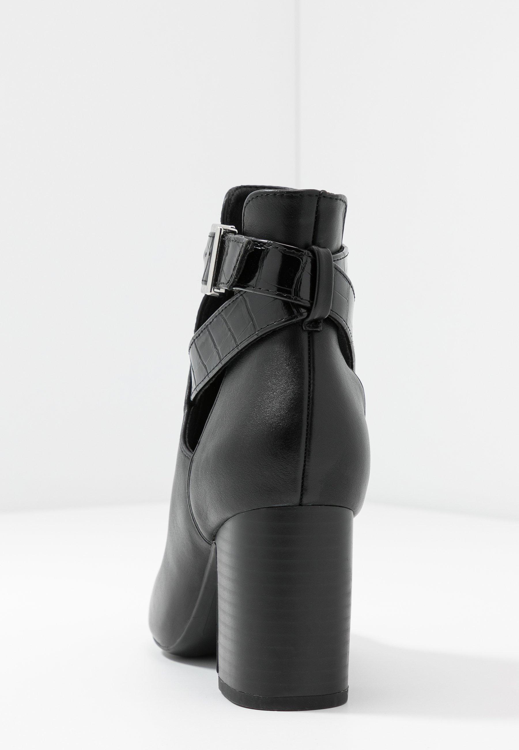 New Look Electric - Korte Laarzen Black Goedkope Schoenen