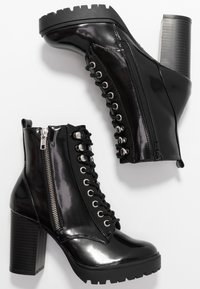 New Look - DYLAN - High heeled ankle boots - black - 3