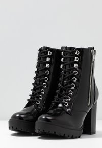 New Look - DYLAN - High heeled ankle boots - black - 4