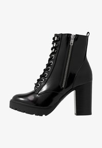 New Look - DYLAN - High heeled ankle boots - black - 1