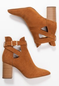 New Look - ELECTRIC - Ankle boot - tan - 3