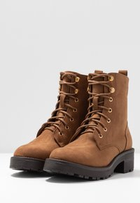 New Look - Lace-up ankle boots - tan - 4