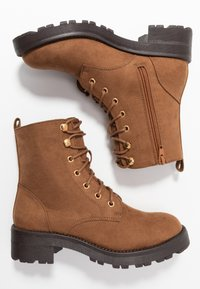 New Look - Lace-up ankle boots - tan - 3