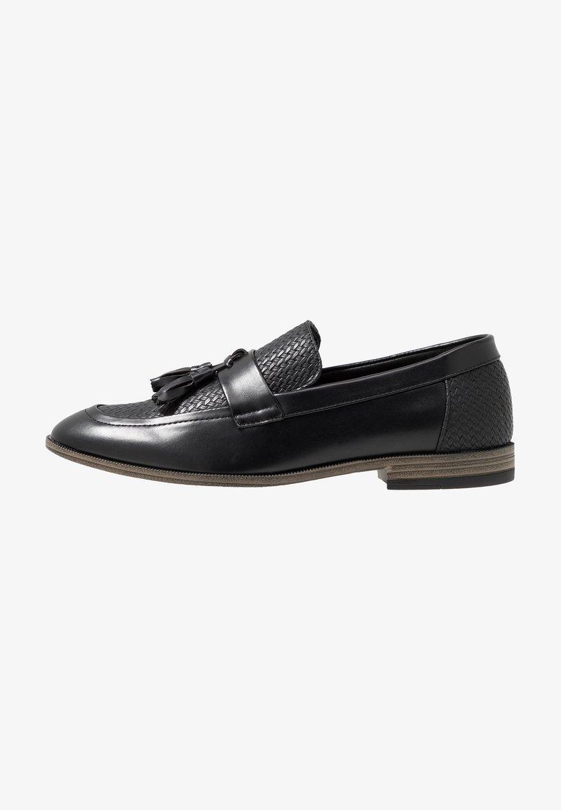 New Look - TASSEL LOAFER - Slip-ons - black