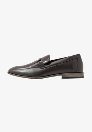 IRWIN LOAFER - Mocasines - dark brown