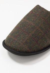 New Look - CHECK MULE  - Domácí obuv - grey - 5