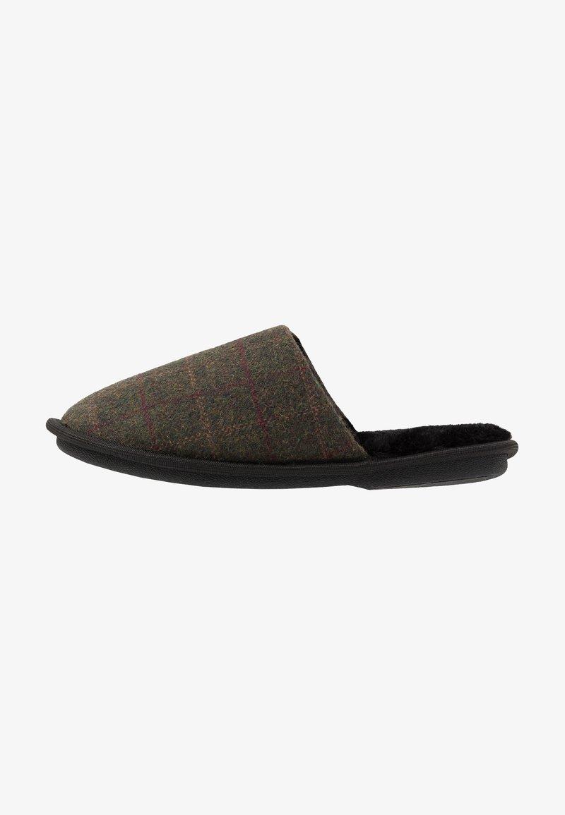 New Look - CHECK MULE  - Domácí obuv - grey