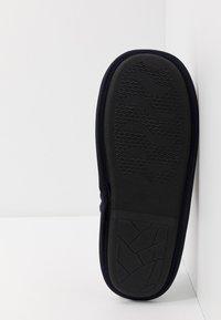 New Look - TARTAN MULE - Domácí obuv - navy - 4