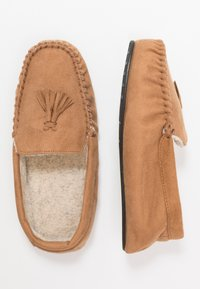 New Look - TASSEL MOCCASIN  - Pantuflas - tan - 1