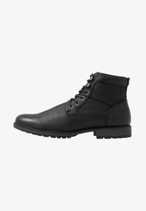JOE MILITRY BOOT - Lace-up ankle boots - black