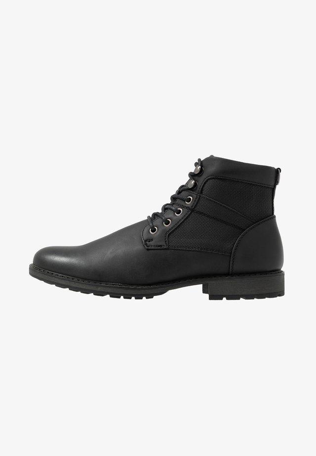 JOE MILITRY BOOT - Veterboots - black