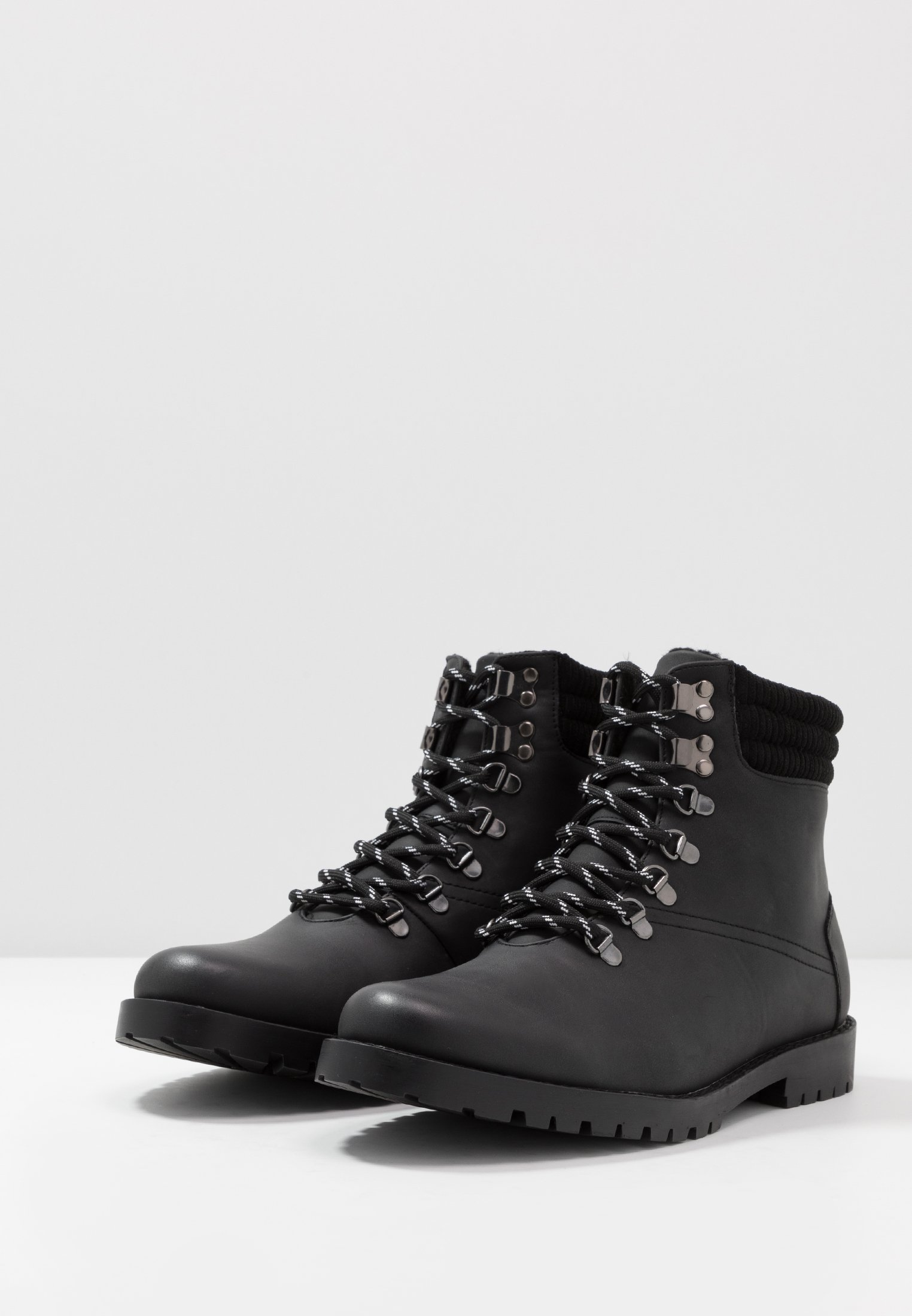 New Look Mike Hiker Boot - Schnürstiefelette Black Friday