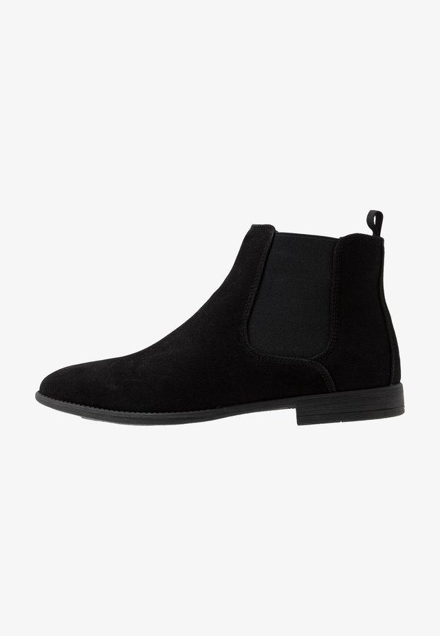 FRANCIS CHELSEA BOOT - Korte laarzen - black