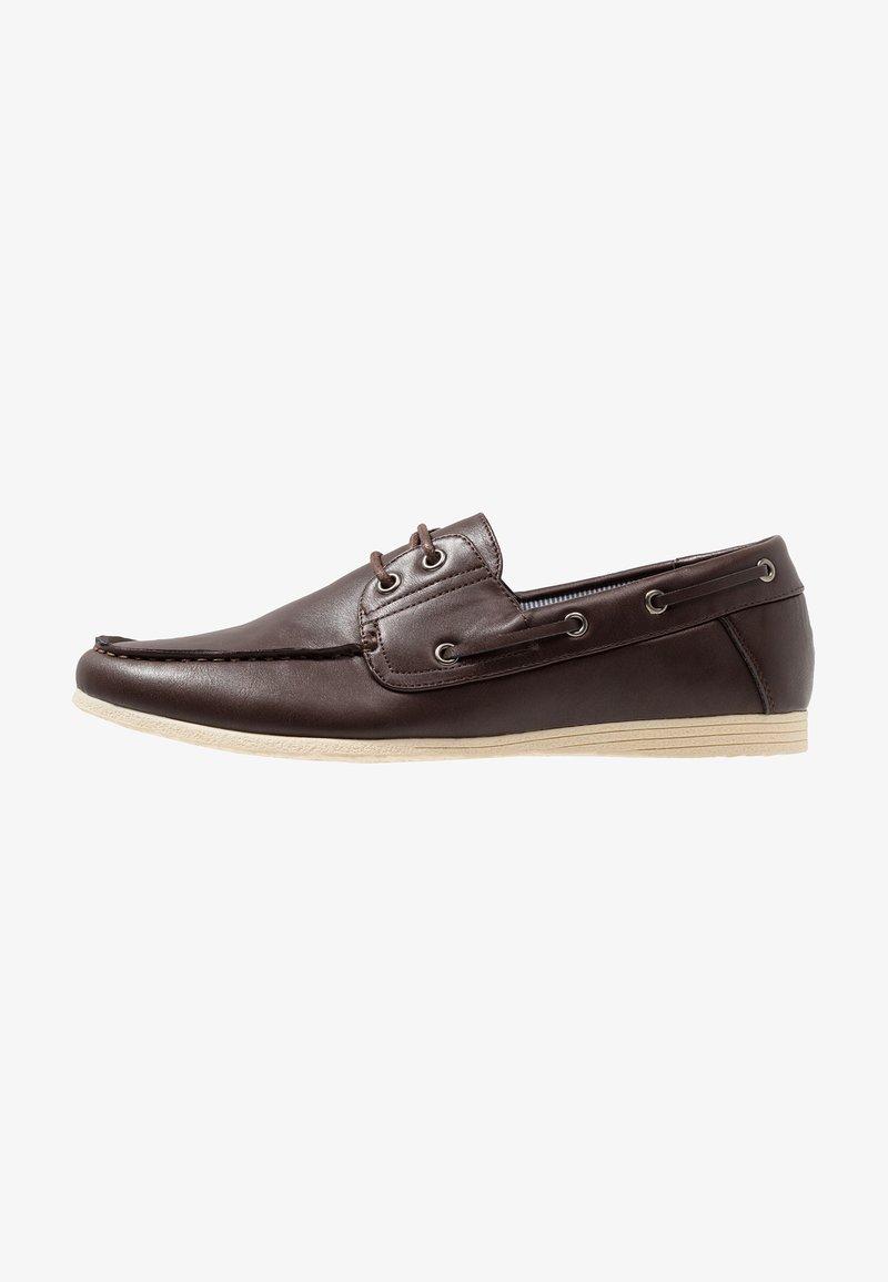 New Look - FORTUNE BOAT - Bootsschuh - dark brown