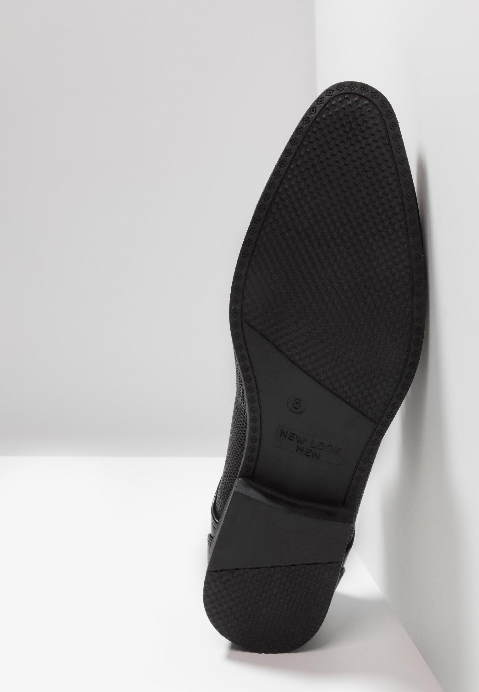 Look FormalDerbiesamp; Perf Black Richelieus New b76yYfg