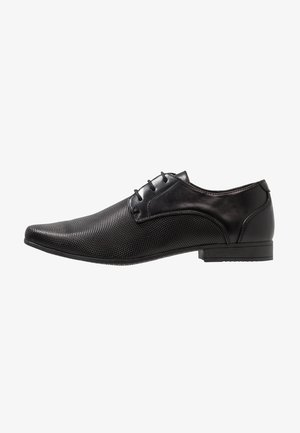 PERF FORMAL - Smart lace-ups - black