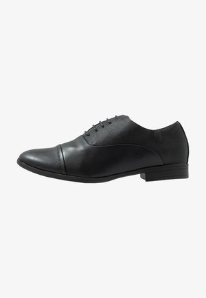 CITY OXFORD FORMAL - Eleganta snörskor - black