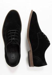 New Look - LARRY DERBY - Smart lace-ups - black - 1