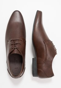 New Look - ARNOLD  - Smart lace-ups - dark brown - 1