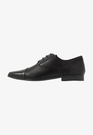 RONALD FORMAL - Eleganta snörskor - black