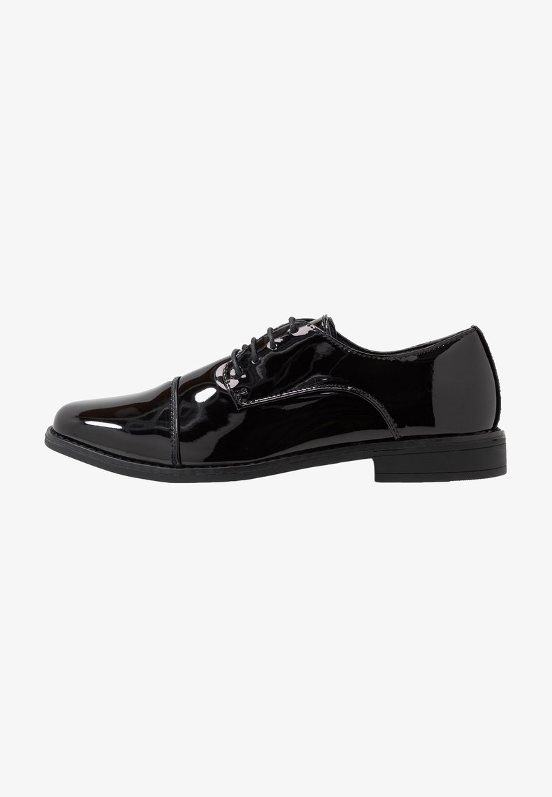 New Look - SHEEN OXFORD  - Smart lace-ups - black