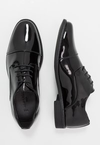 New Look - SHEEN OXFORD  - Smart lace-ups - black - 1