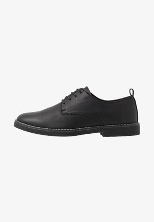 OXFORD - Stringate - black