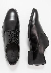 New Look - DANNY PLAN FORMAL - Eleganckie buty - black - 1