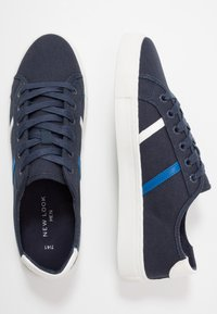 New Look - NOVAK - Baskets basses - navy - 1
