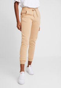 New Look - BASIC BASIC  - Tracksuit bottoms - camel - 0