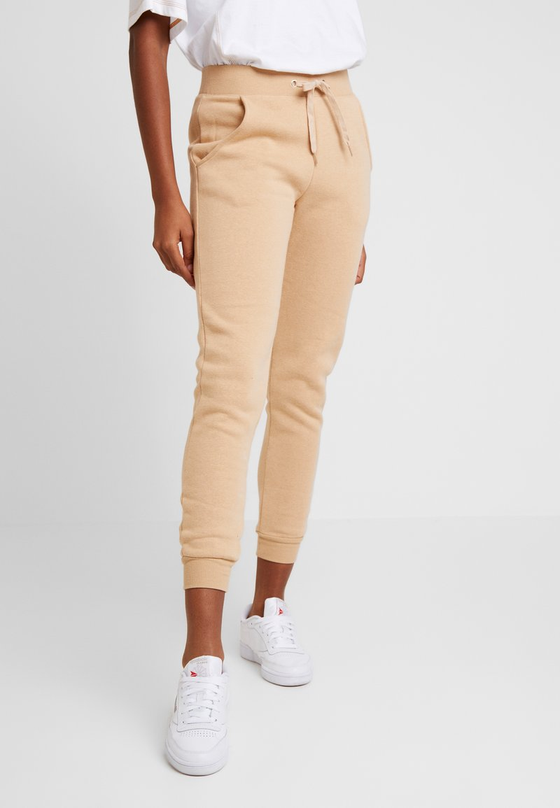 New Look - BASIC BASIC  - Tracksuit bottoms - camel